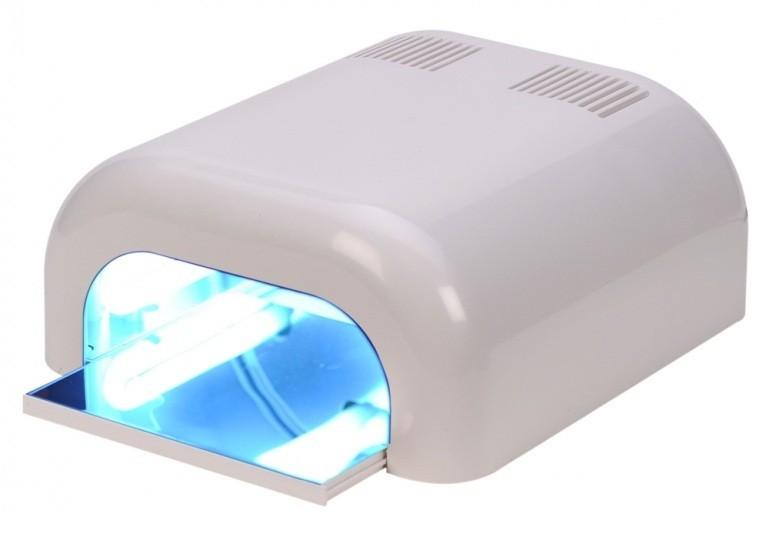 uv lampe mit 4 r hren zum aush rten von uv gel nagellack. Black Bedroom Furniture Sets. Home Design Ideas